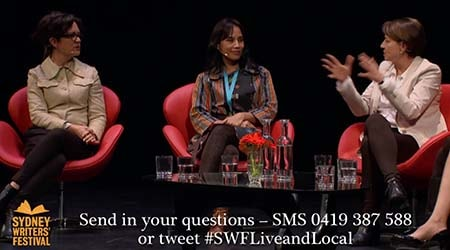 SMS Text Questions for Sydney Writers' Festival 2015