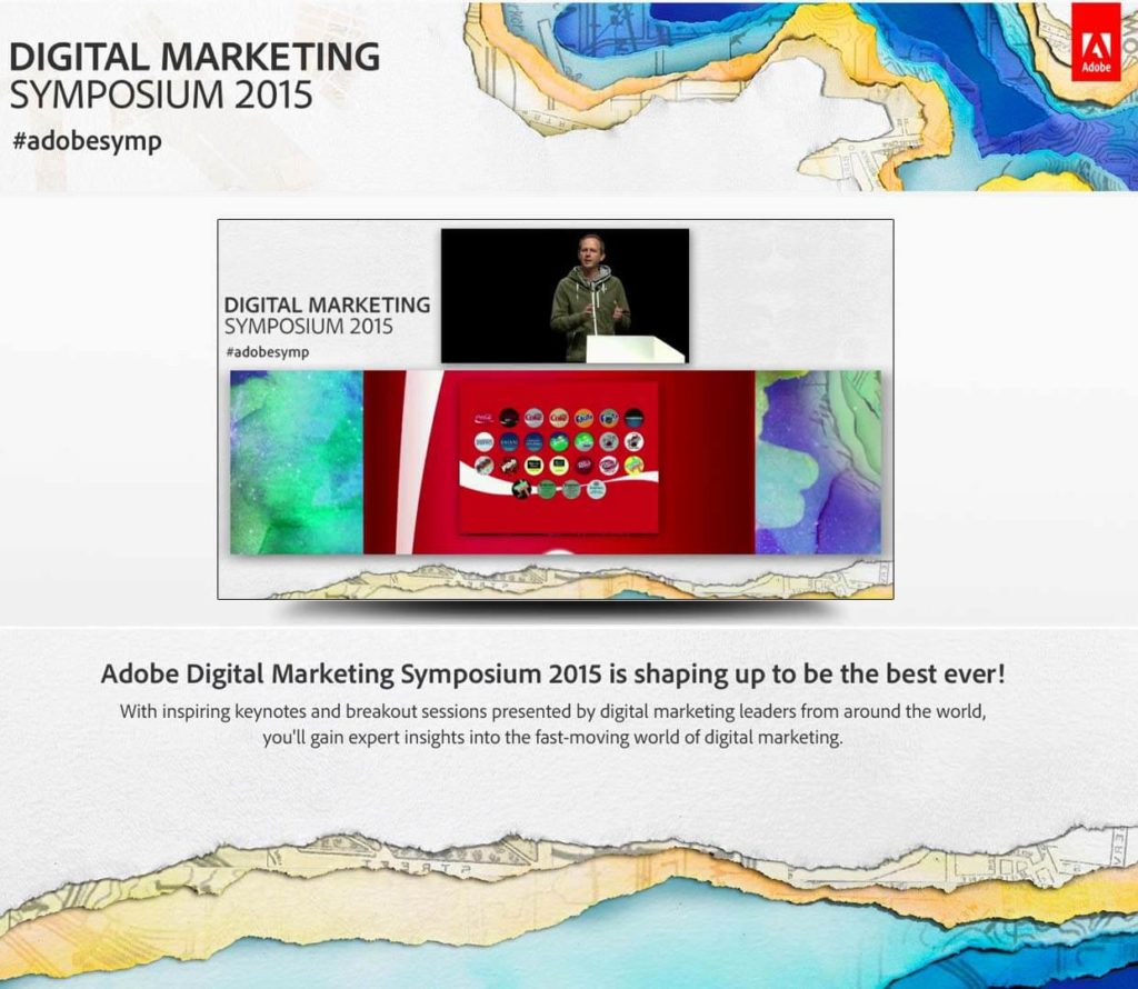 ADOBE Digital Marketing Symposium Live Stream
