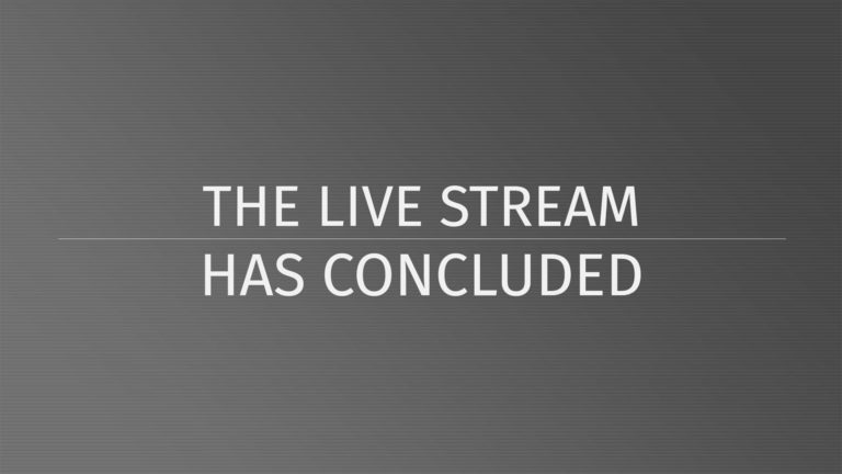 Livestream Completed