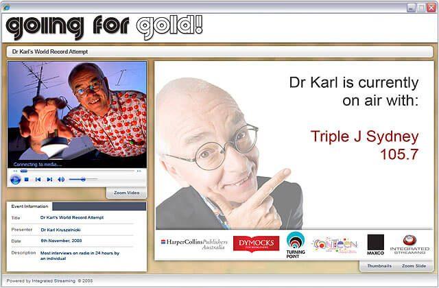 Dr Karl Webcasts
