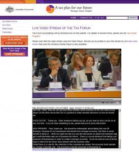 Australian Tax Forum