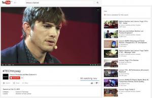 Ashton Kutcher talks to Lenovo