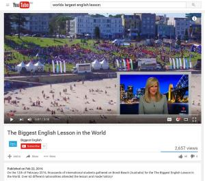 Largest English Lesson
