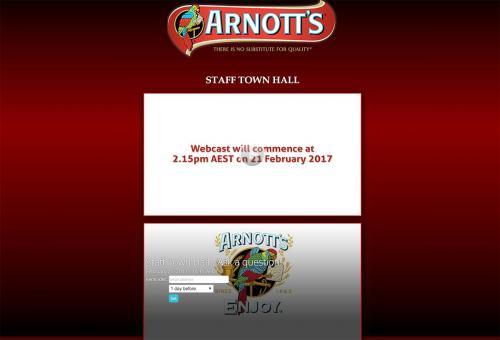Arnotts Quarterly Staff Town Hall