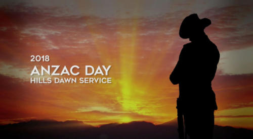 ANZAC Day Dawn Service to Facebook