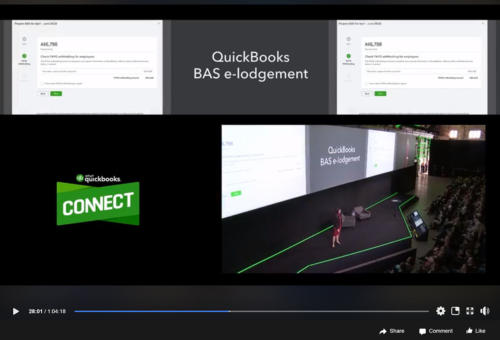 Quickbooks to Facebook